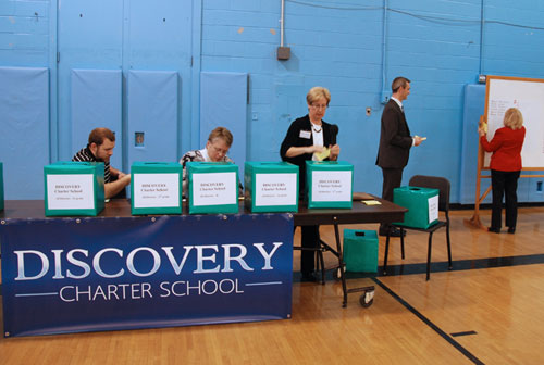 Discovery Charter School's First Admission Lottery